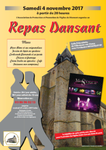 Repas Dansant APPED @ Salle Polyvalente | Villeneuve-sur-Yonne | Bourgogne Franche-Comté | France
