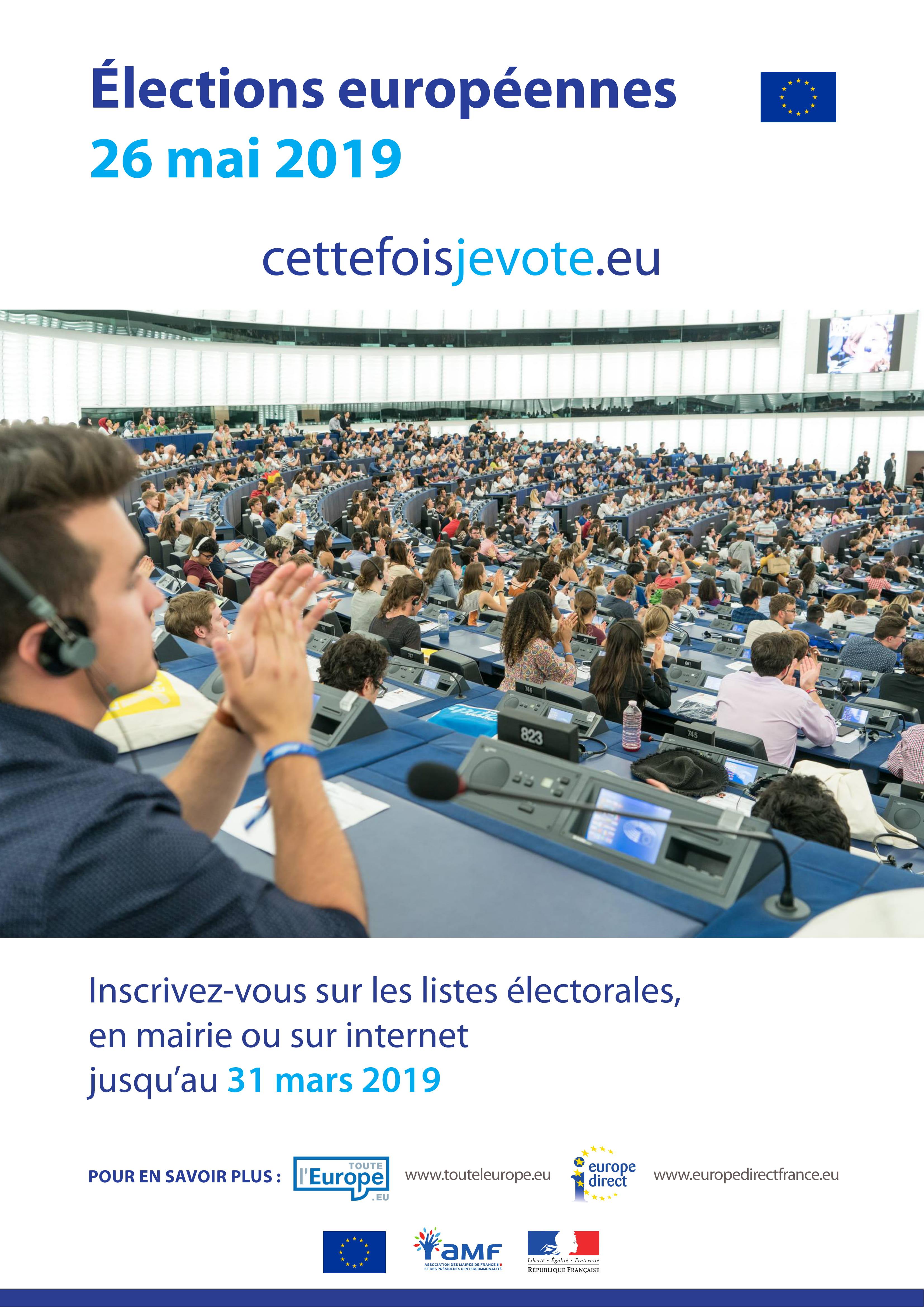 Affiche Elections Européennes