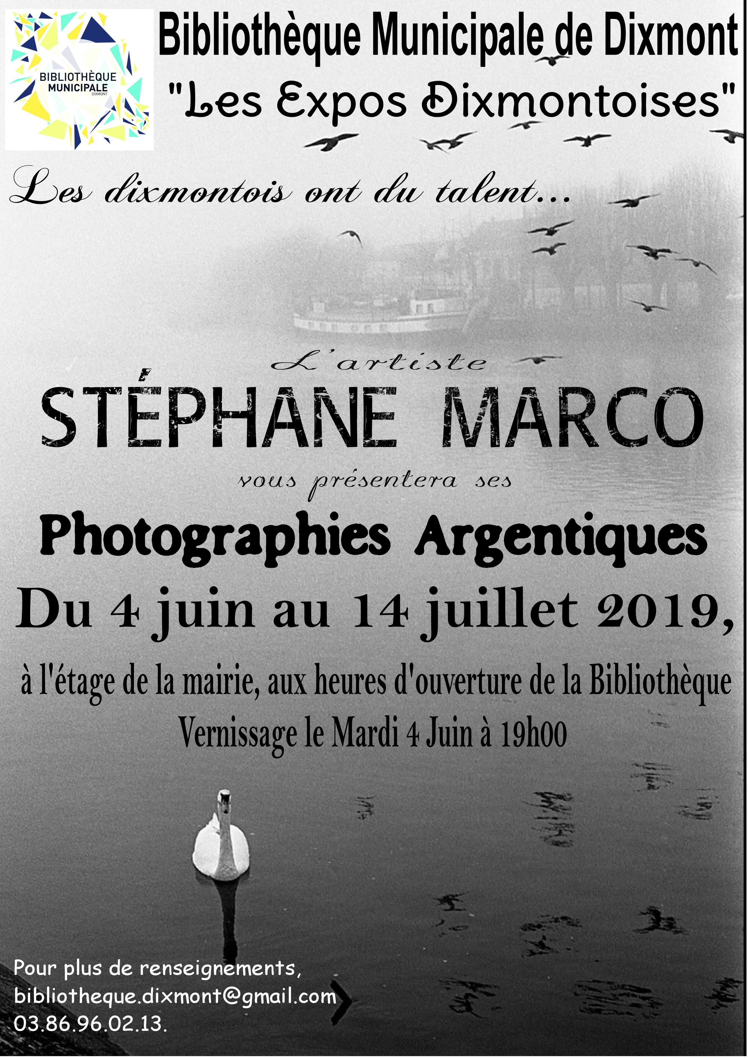 Les expos Dixmontoises - Stéphane Marco