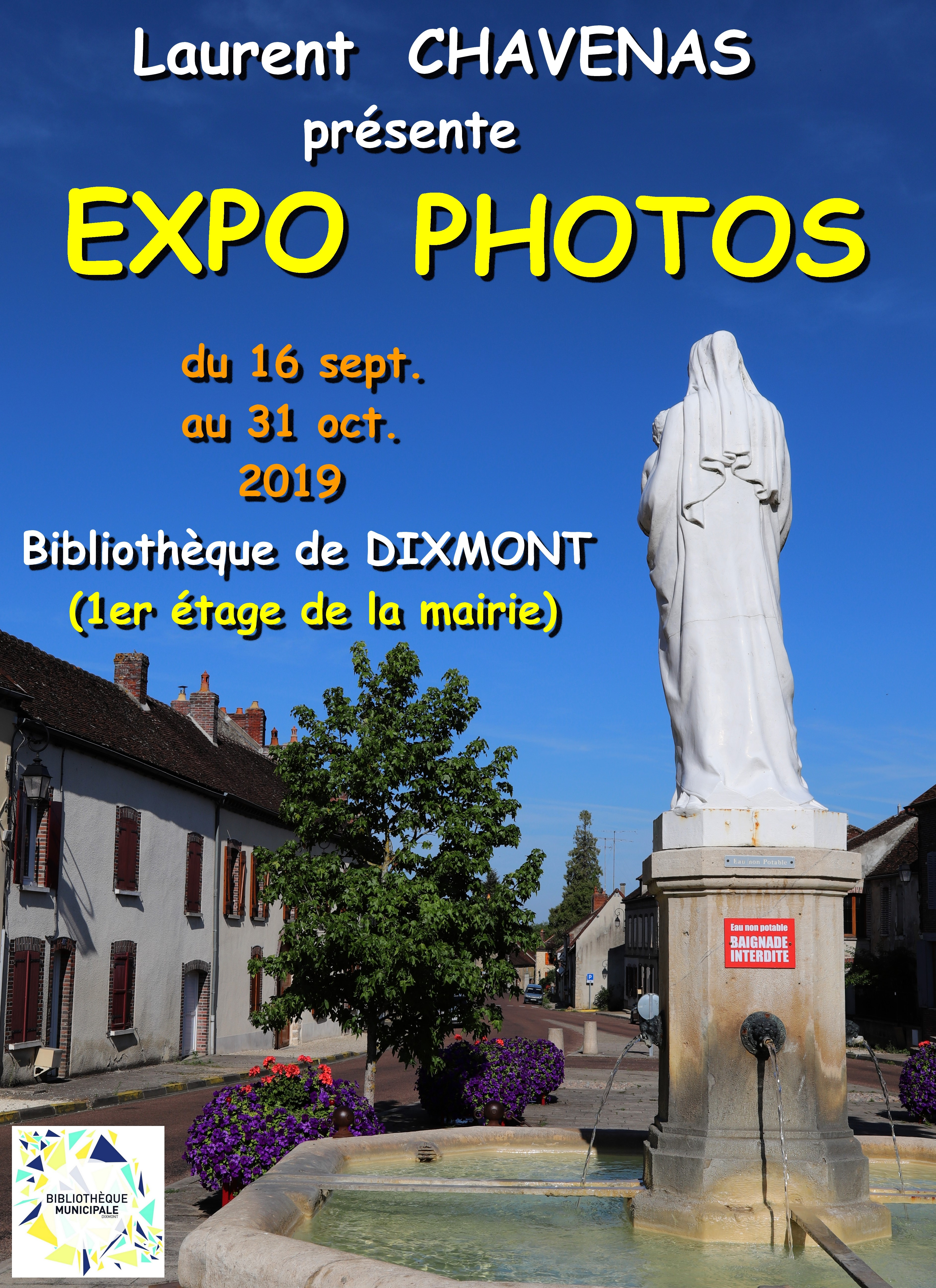 Exposition Laurent Chavenas